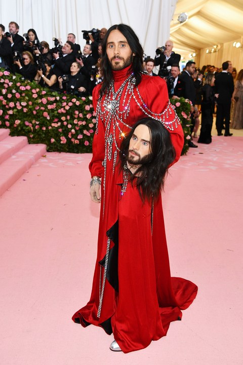 Jared Leto in Gucci. Photo by Dimitrios Kambouris